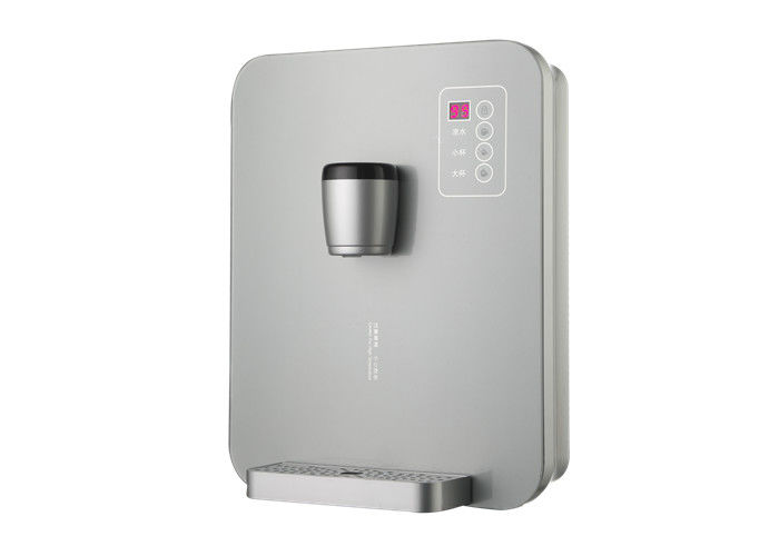 Non - Metallic Heating Body Wall Mounted Boiling Water Dispenser Safe Temperature Control