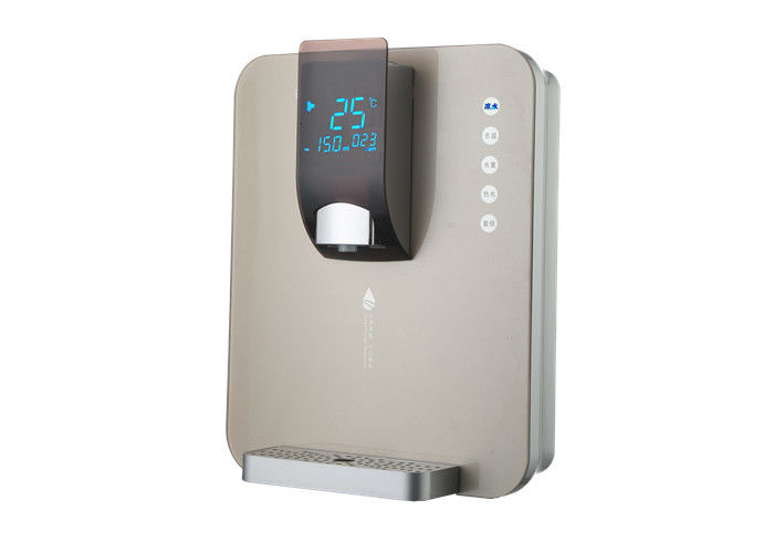 Luxury Grey Wall Mounted Instant Hot Water Dispenser With Multi Function Touch Screen